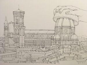 Original drawing – God Bless Brunelleschi – NemO's