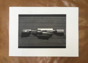 Linocut #3 – Untitled by Soda