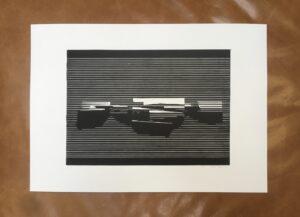 Linocut #5 – Untitled by Soda