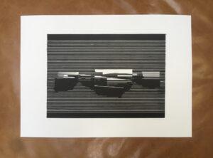 Linocut#7 – Untitled by Soda