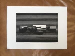 Linocut #8 – Untitled by Soda