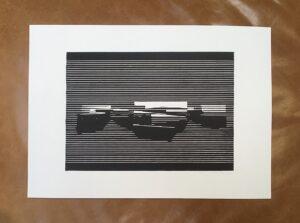 Linocut #9 – Untitled by Soda