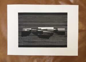 Linocut #10 – Untitled by Soda