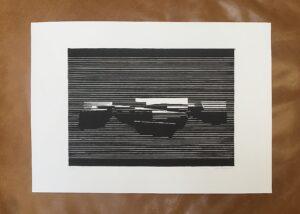Linocut #11 – Untitled by Soda