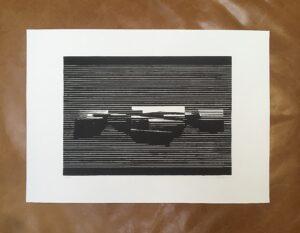 Linocut #12 – Untitled by Soda