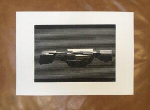 Linocut #6 – Untitled by Soda