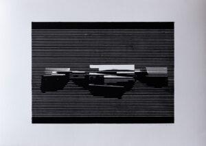 Linocut #4 – Untitled by Soda
